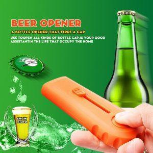 Houten Bieropener | Bier Opener Cap Gun | Bierdopjes Schieter