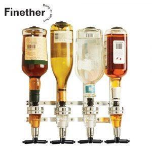 Bar Butler voor 4 Flessen