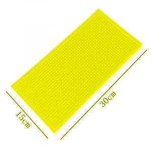 Anti-Slip Rubber Barmat / Dripmat Geel