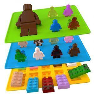 Siliconen IJsblokjesvorm Lego