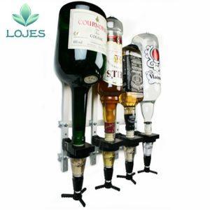 Flessen Dispenser / Flessenhouder voor aan de Muur