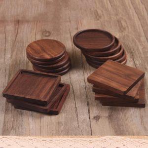 Houten Onderzetter | Bamboe Onderzetter