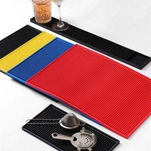 Anti-Slip Rubber Barmat / Dripmat Vierkant