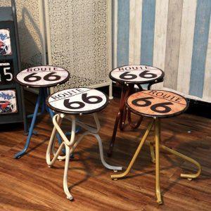 Barkruk | Industriële Barkruk | Retro Barkruk | Vintage Barkruk | Leren Barkruk | Loft Barkruk