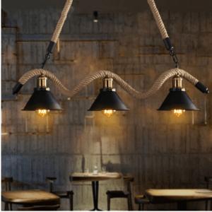 Retro Plafondlamp / Retro Plafond Lamp / Retro Plafondverlichting / Retro Plafond Verlichting – Vintage Plafondlamp / Vintage Plafond Lamp / Vintage Plafondverlichting / Vintage Plafond Verlichting – Industriële Plafondlamp / Industriële Plafond Lamp / Industriële Plafondverlichting / Industriële Plafond Verlichting – American Loft – Houten | Industriële/Vintage/Retro Hanglamp