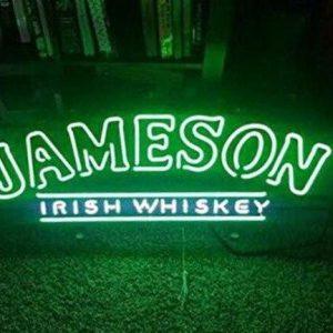 Jameson LED Neon Verlichting   Jameson Merchandise   Jameson Accessoires