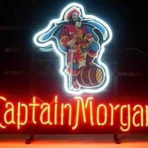 Captain Morgan Neon Licht | Captain Morgan Merchandise | Captain Morgan Accessoires