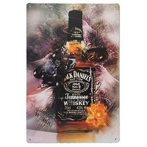 Jack Daniels Vintage Wandbord | Jack Daniels Merchandise | Jack Daniels Accessoires
