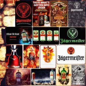 Jägermeister Vintage Wandbord | Jägermeister Merchandise | Jägermeister Accessoires