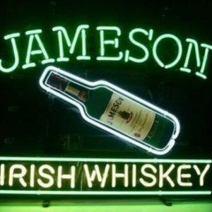 Jameson Neon Bord   Jameson Merchandise   Jameson Accessoires