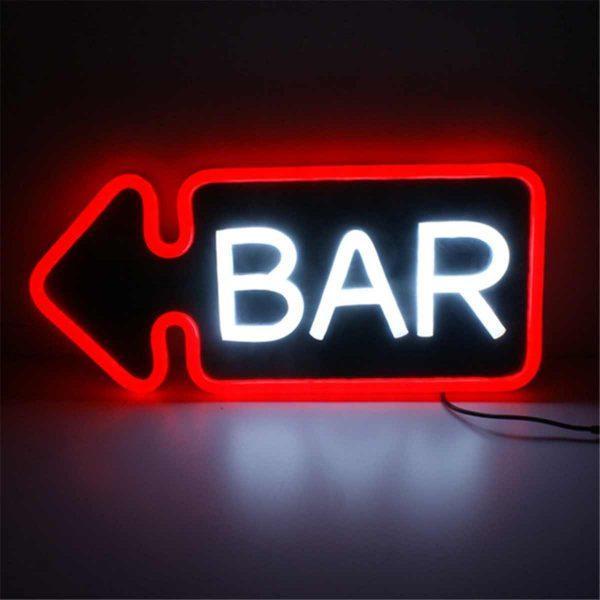 Neon Bar Verlichting   Retro/Vintage/Antiek Neon Reclamebord   Neon Sign