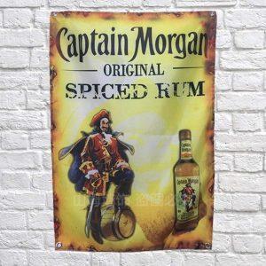 Captain Morgan Poster / Banner   Captain Morgan Merchandise   Captain Morgan Accessoires