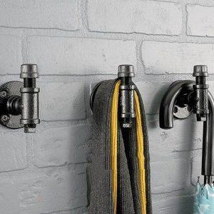 Retro/Vintage Kapstok | Steiger Buis/Waterkraan Kapstok | Industriële Kapstok Hanger