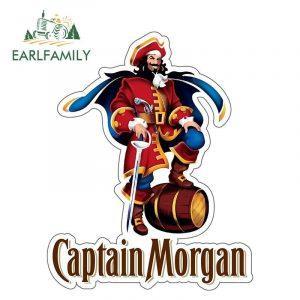 Captain Morgan Sticker   Captain Morgan Merchandise   Captain Morgan Accessoires