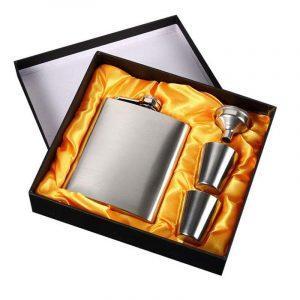 RVS Heupfles / Veldfles | Draagbare Whiskey Fles | RVS Flagon