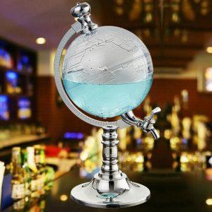 Whiskey Wereldbol | Whiskey Wereldbol Karaf | Whisky Wereldbol Karaf | Wereldbol Decanteerkaraf | Luxe Whiskey Karaf | Whiskey Globe | Drank Decanteer Karaf |