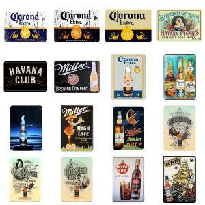 Havana Club Metalen Wandbord | Havana Club Merchandise | Havana Club Accessoires