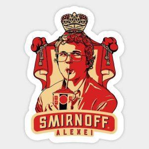 Smirnoff Sticker | Smirnoff Merchandise | Smirnoff Accessoires