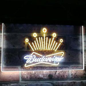 Budweiser Neon Licht LED | Budweiser Accessoires | Budweiser Merchandise