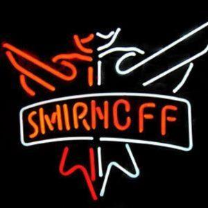 Smirnoff LED Neon Verlichting | Smirnoff Merchandise | Smirnoff Accessoires