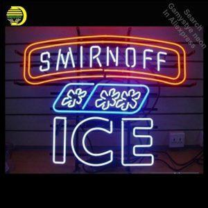 Smirnoff LED Neon Bord | Smirnoff Merchandise | Smirnoff Accessoires