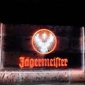 Jägermeister Neon Led Licht | Jägermeister Merchandise | Jägermeister Accessoires