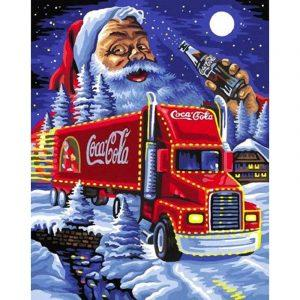 Coca Cola Santa Diamond Painting | Coca Cola Accessoires | Coca Cola Merchandise