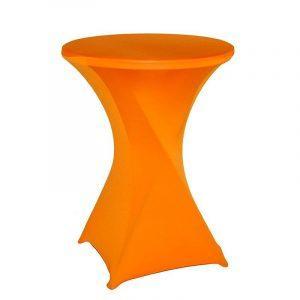 Oranje Statafelhoes | Statafelrok | Spandex tafelhoes