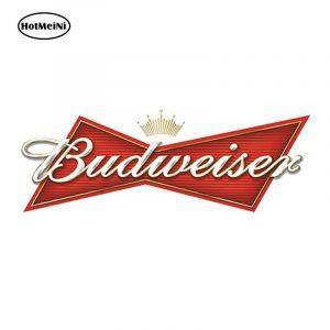 Budweiser Sticker | Budweiser Accessoires | Budweiser Merchandise