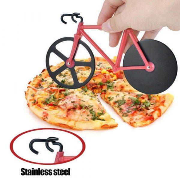 Pizzasnijder Fiets   Pizza Snijder   Pizzaschaar   Pizza Cutter