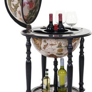 brulo-wereldbol-globebar-eriksson-wijnrek-42-cm-donker-grijs-3-flessen