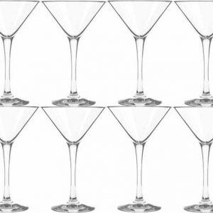 8x-cocktail-martini-glazen-transparant-260-ml-martini-serie-26-cl-