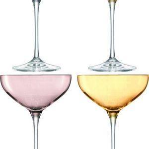 lsa-polka-cocktailglazen-set-van-4-stuks-multicolor-390-ml