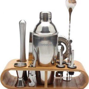 sweebie-professionele-cocktailshaker-set-11-delig-750ml-cocktail