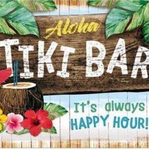 aloha-tiki-bar-happy-hour-metalen-wandbord-20x30-cm