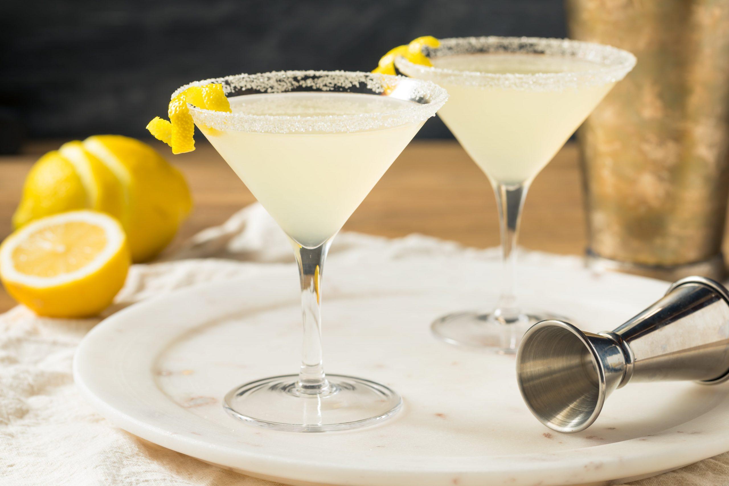 Lemon Drop Martini Cocktail Recept