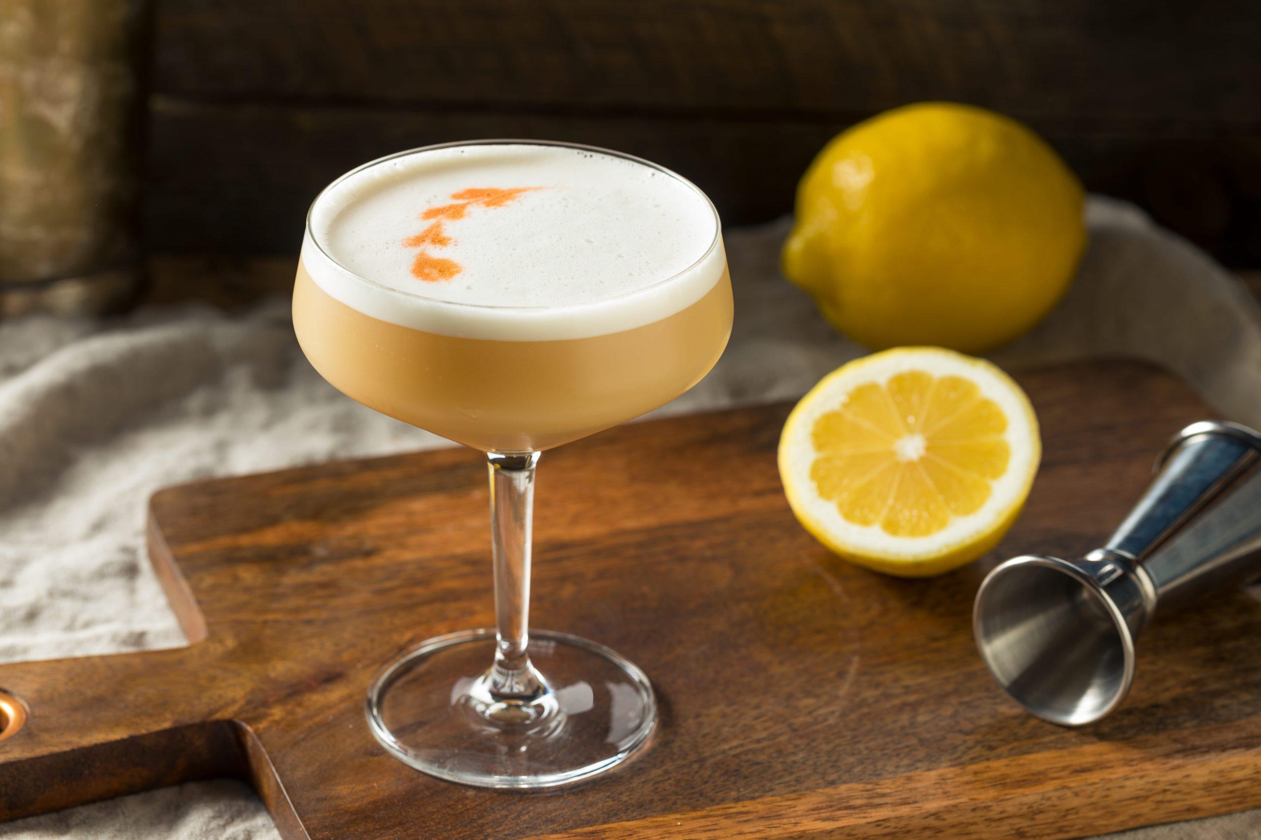 Pisco Sour Cocktail Recept