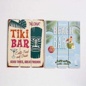 wandbord-tiki-bar-beach-se-t-van-2-stuks