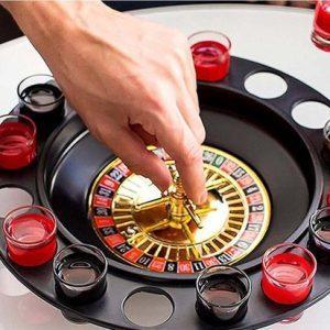 roulette-drinkspel-drankspel-spel-drank-alcohol-met-16-shots-glazen