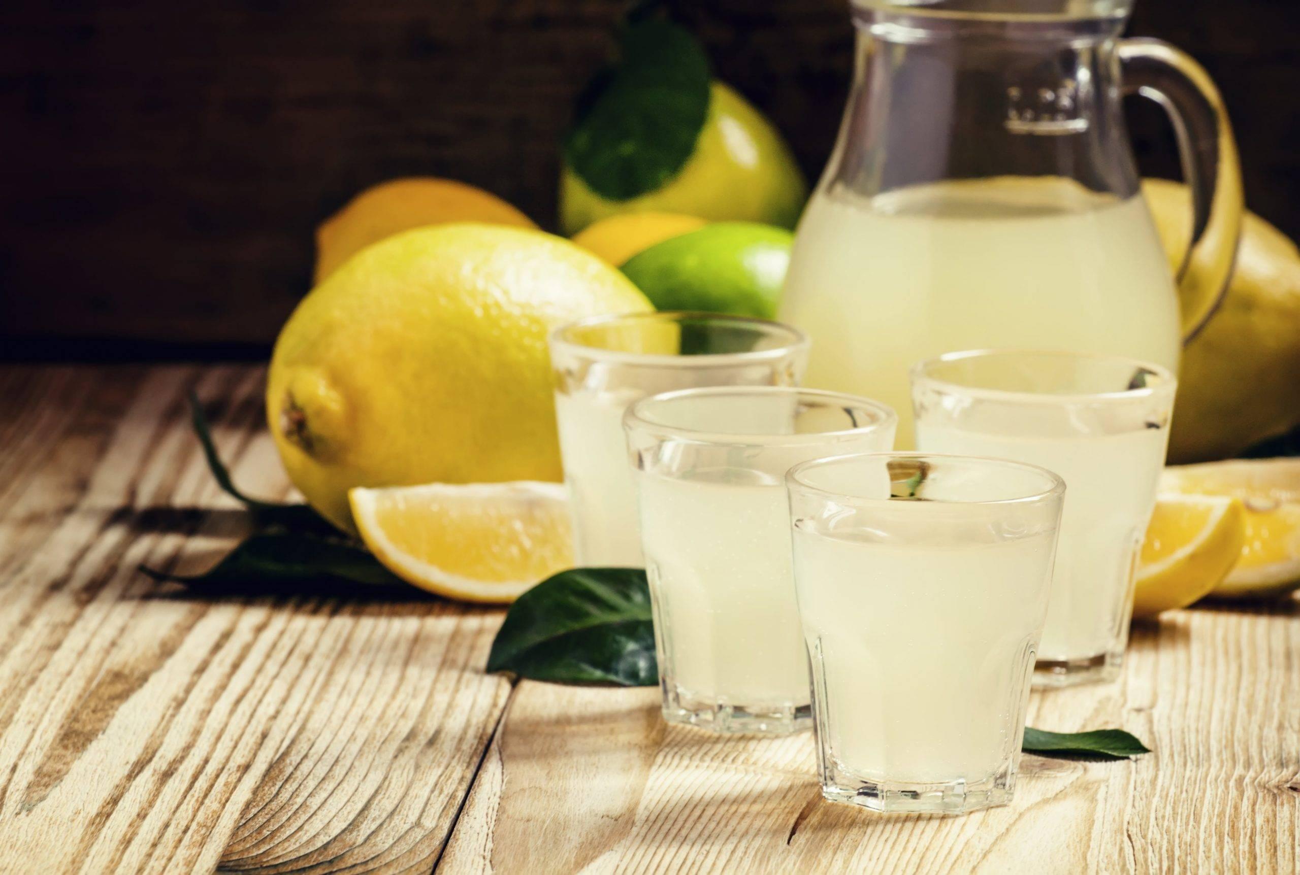 Lemon Drop Shot Recept